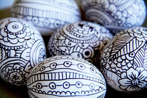 Alisaburke Doodle Easter Eggs