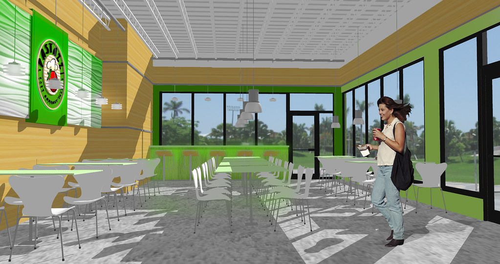 Conceptual design rendering 3d restaurant design for 3d restaurant design software