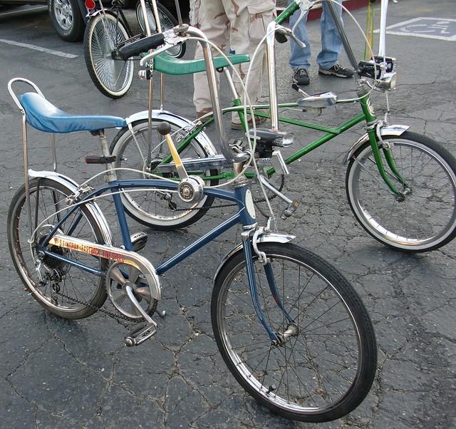 Vintage Banana Seat Bike 121