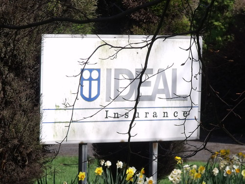 Ideal Insurance, Moor Green Lane - sign