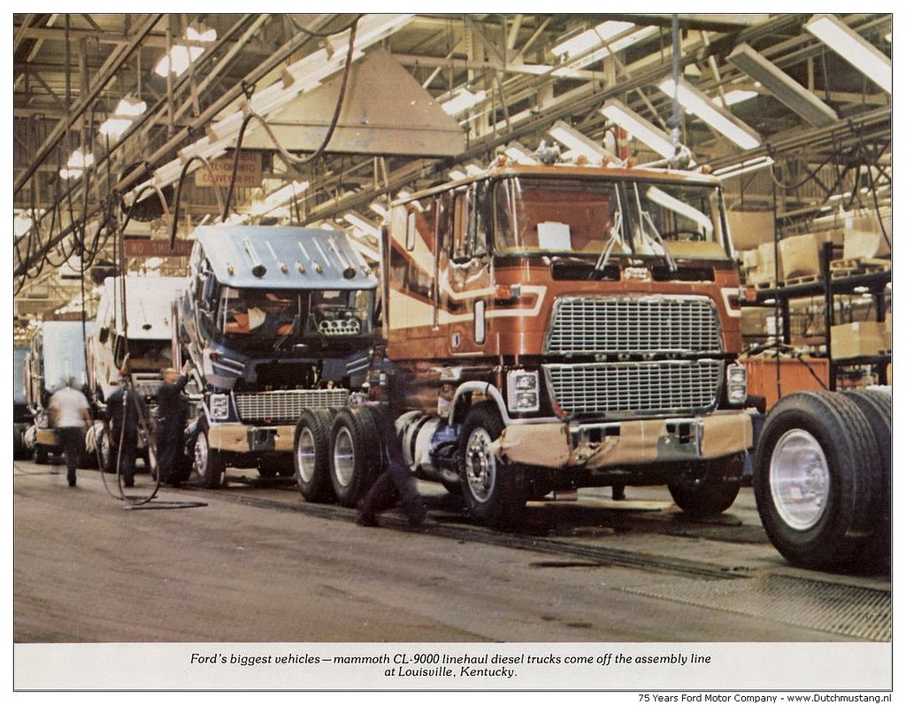 75 Years Ford Motor Company 1978 Fords Biggest Vehicles