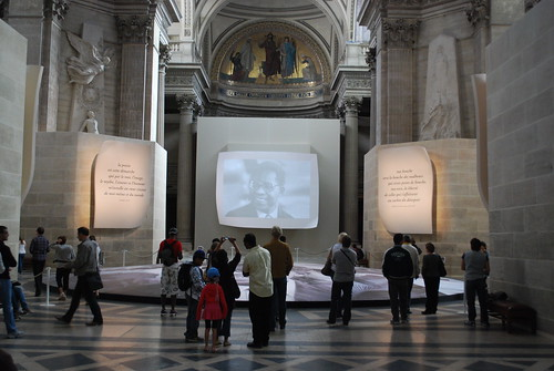 Aime Cesaire rememberance/honors inside the Pantheon
