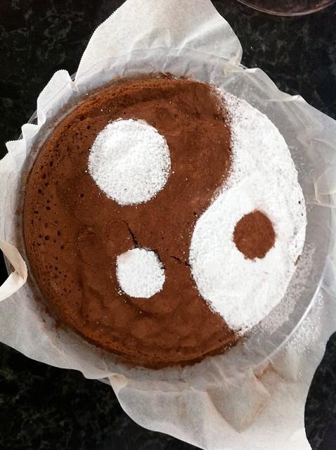 Ying-Yang Cake