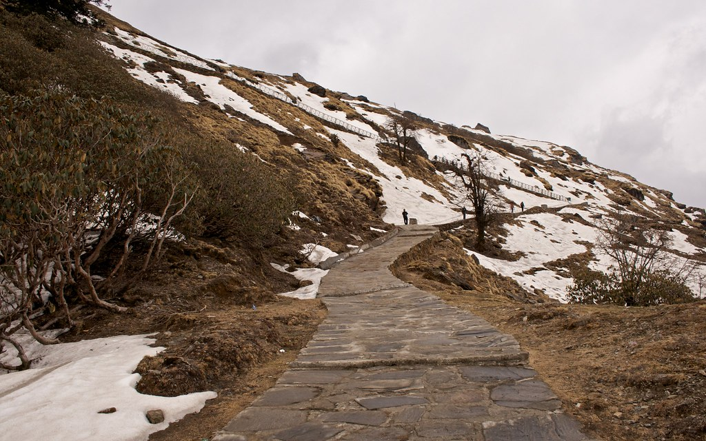 Trail to Tungnath