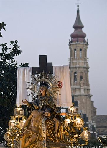Imagen de Nuestra Señora de la Piedad de Zaragoza