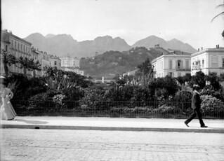 Le parc, Menton, 27 avril 1904