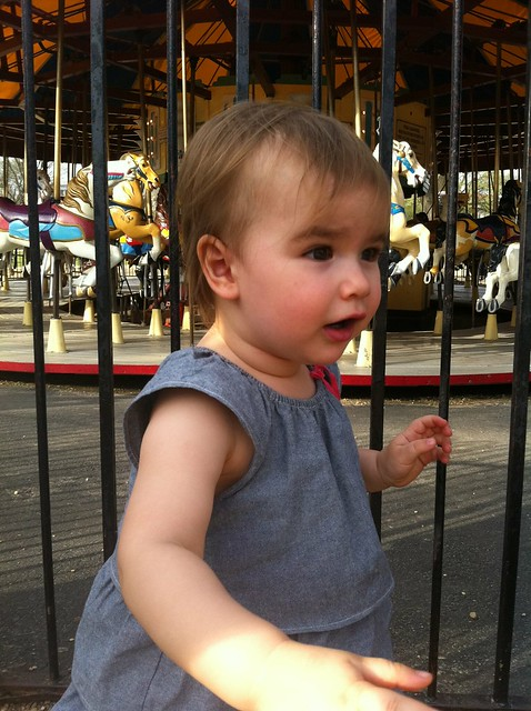 First Carousel Ride