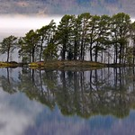 Island in lake Hornindalsvatnet - Fururik øy