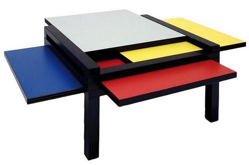 Modrian Table By Bernard Vuarnesson Tetraktysmag By