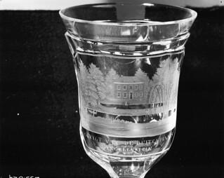 Souvenirglas met afbeelding van Huis Angerenstein