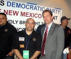 Martin Heinrich & Firefighters