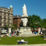 Statue Of Queen Victoria - Belfast City Hall