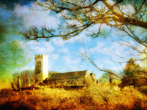 Manorbier .... church of St James ..