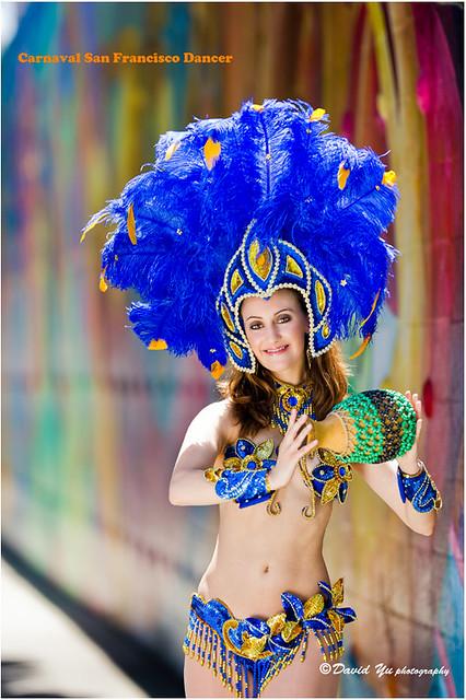 Carnaval San Francisco Dancer