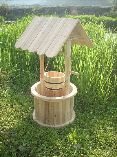 garden wishing well flickr photo sharing. Black Bedroom Furniture Sets. Home Design Ideas