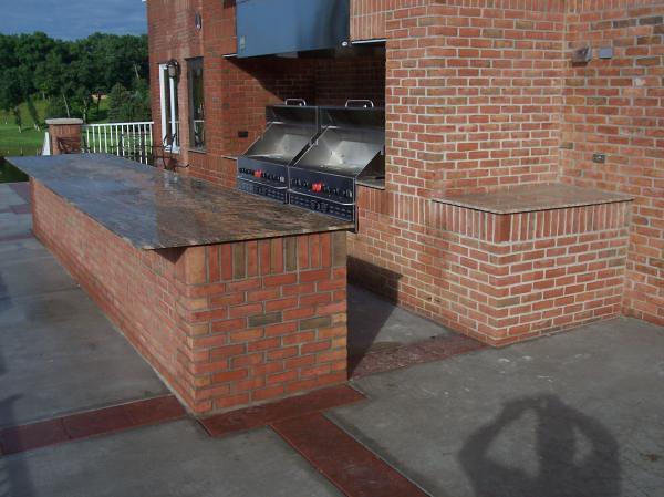 Granite Outdoor Bar Top