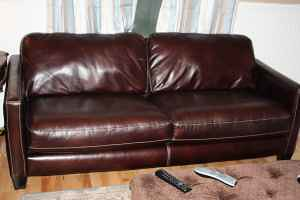 Craigslist – Leather Couch