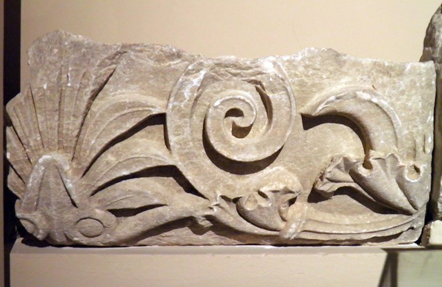 Pediment Fragment, Magnesia Ad Meandrum, Istanbul Archeology Museum