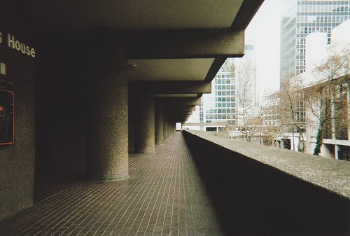 barbican walkways