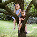 William & Anna in tree