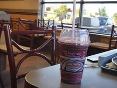 Tim Hortons Real Fruit Mixed Berry Smoothies