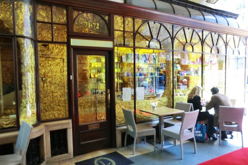 Gold café in the Burlington Arcade