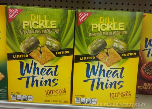 Limited Edition Dill Pickle Wheat Thins