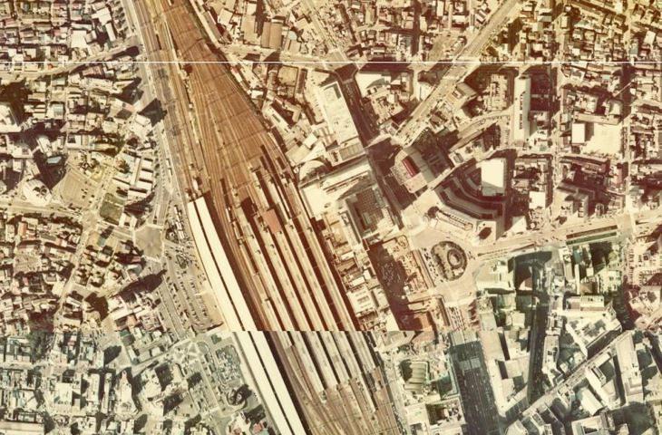 1975年の名古屋駅