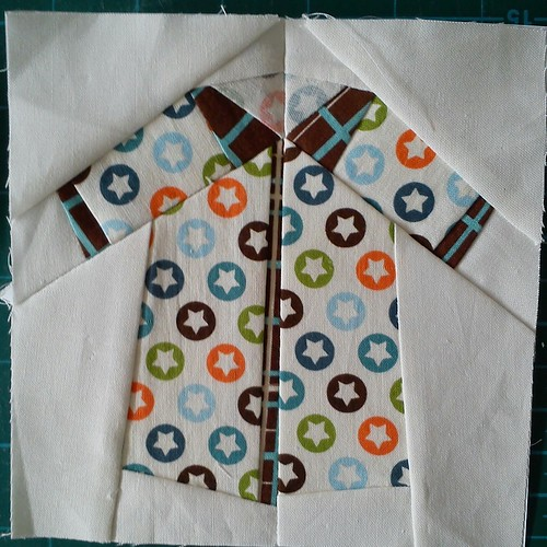 Paper pieced shirt - All Star #1