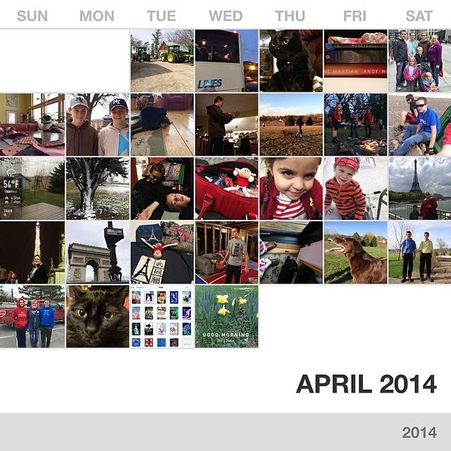 April in photos #collectphotoapp