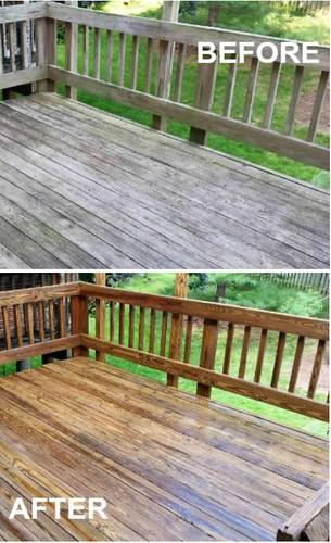 Deck Pressure Cleaning Peachtree Corners GA