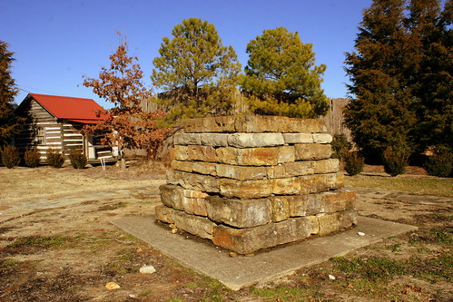 The Original Grave Cairn of Meriwether Lewis