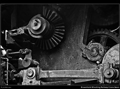 Brownhoist Wrecking Railway Crane Gears