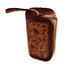 Hand Tooled Leather Purse Bag Wallet Wristlet