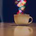 Coffee bokeh by Mahmoud Hiepo