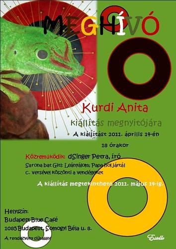 Kurdi Anita kiállítása