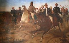 The Nizams and Europeans return from battle