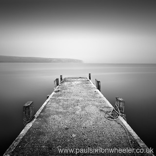 Concrete jetty, Swanage, Dorset