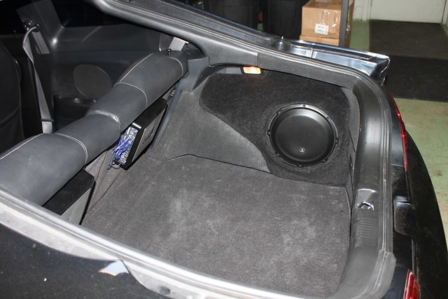 Acura Rsx With Custom Subwoofer Enclosure Flickr Photo