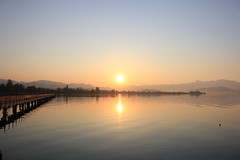 Sonnenaufgang über Rapperswil