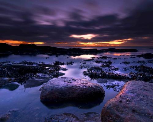 sea scotland long exposure fife lee gloaming d300