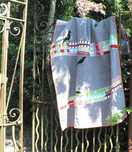 Making Amends {Birds & Empty Cages Quilt}