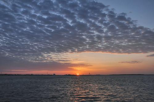 morning sky sun sunrise landscape dawn twilight northcarolina sunup daybreak morningsky firstlight atlanticbeach tadsunrise sunrisedaily