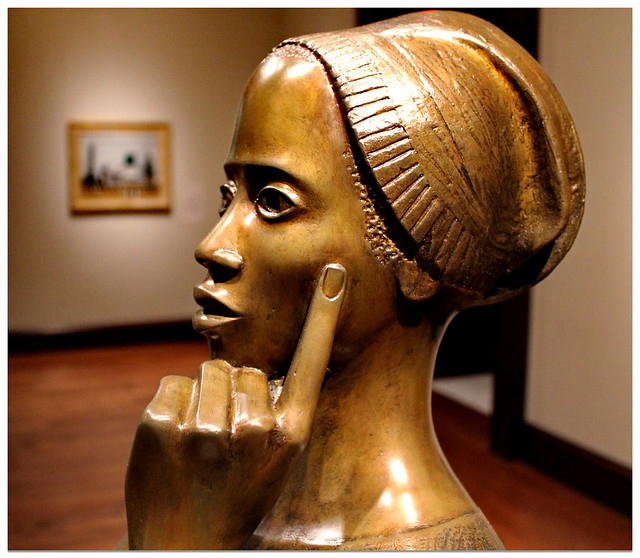 Elizabeth Catlett - Phillis Wheatley (1963) - Cincinnati Art Museum