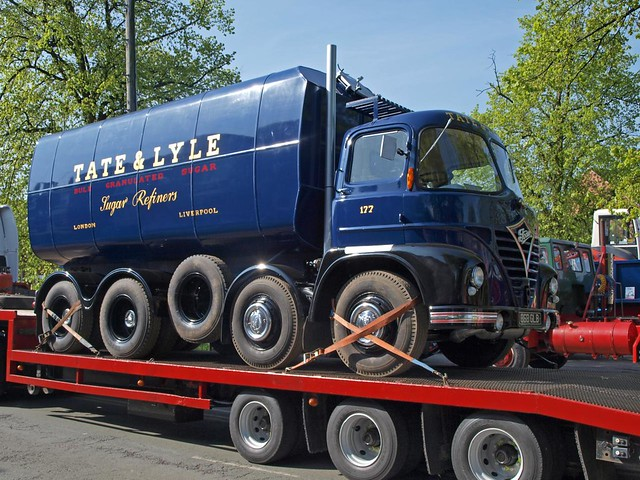 868 GLB  1963  Foden S.21 Tate and Lyle Sugar by wheelsnwings2007/Mike