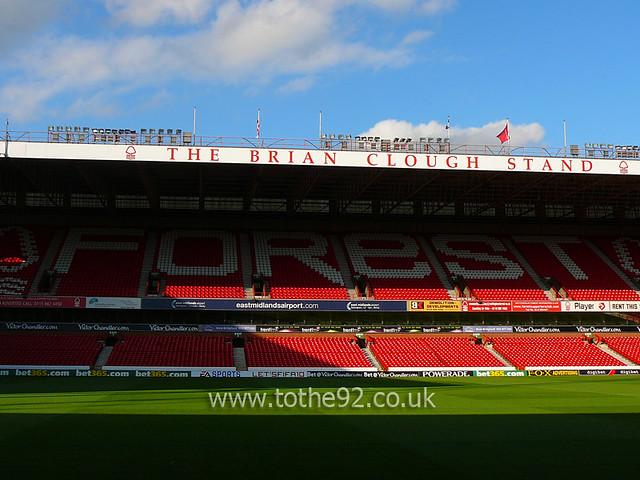 Brian Clough Stand City Ground