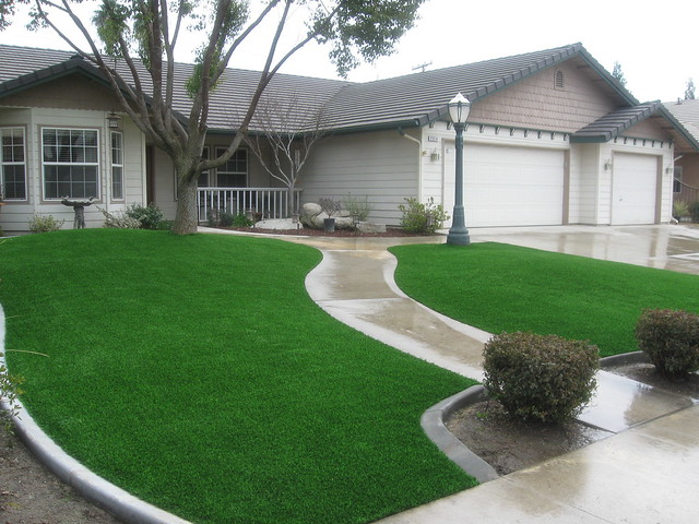 Artificial Grass Yards : Artificial Grass San Jose Front Yard  Flickr  Photo Sharing!