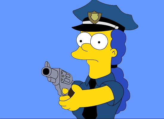 Denniz day reviews the top 30 sexiest female cartoon characters - Police simpsons ...
