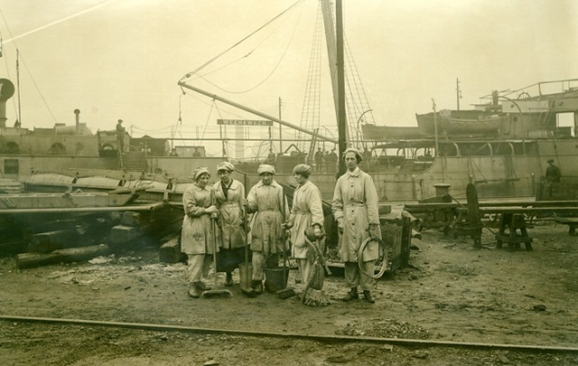 Female Workers - Wallsend