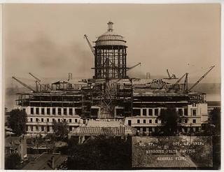 Missouri State Capitol, General View, North (MSA)
